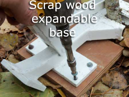 Pullerbear Expandable Bases (Scrap Wood)