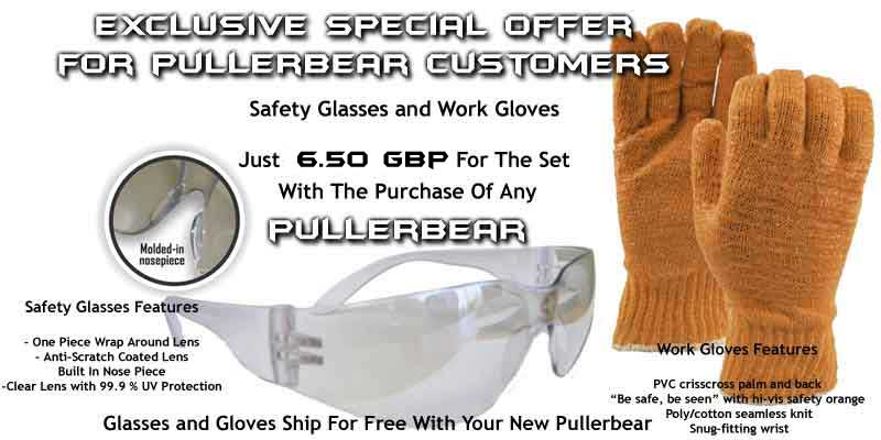 Tree Puller Safety Gear
